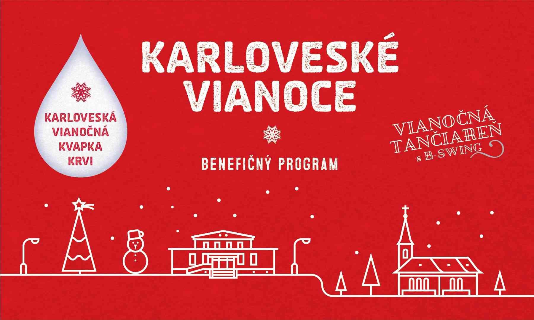 Karloveské Vianoce obohatia darcovia krvi aj benefičný koncert