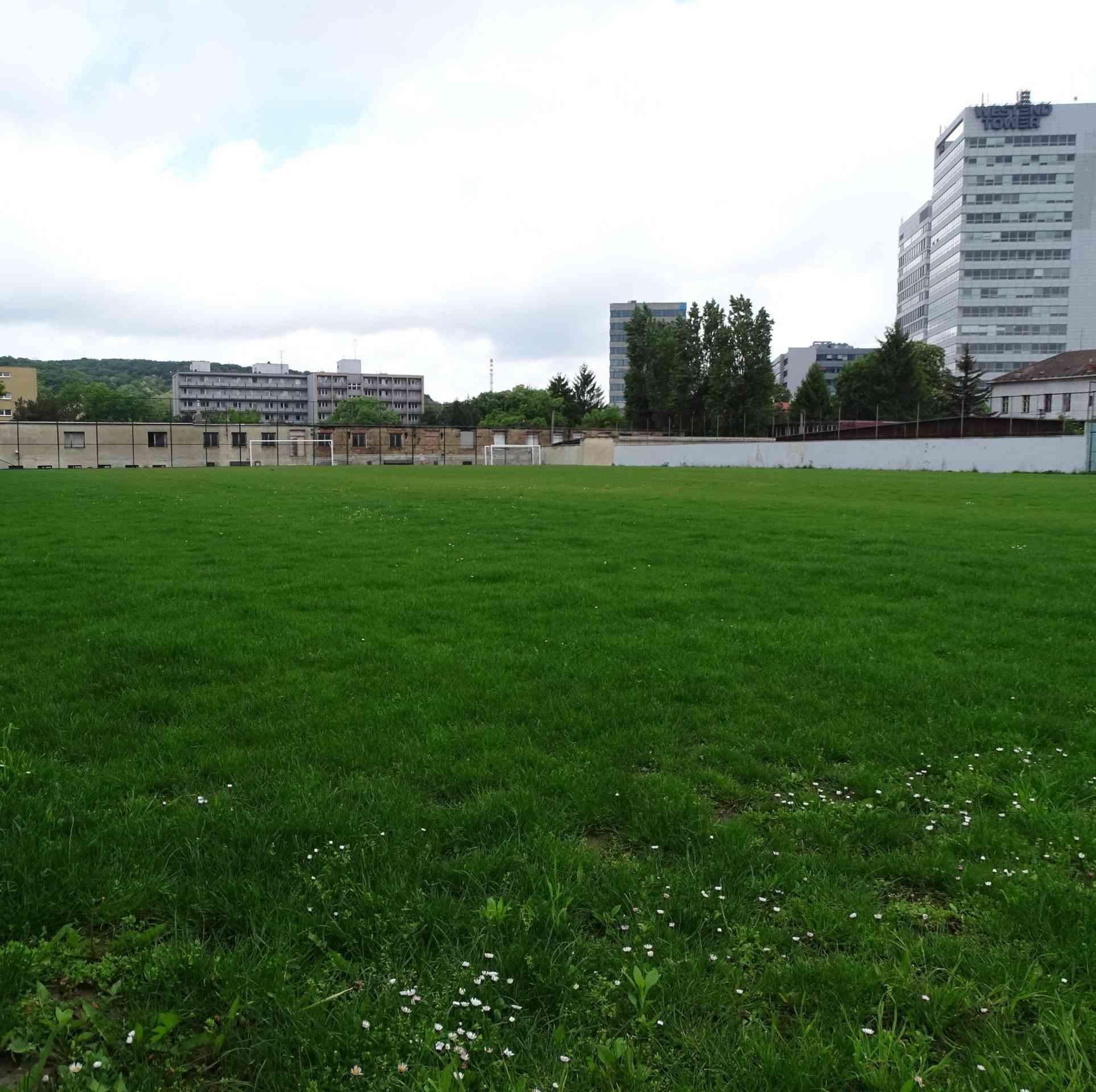 Trávnik na futbalovom ihrisku zrevitalizovali