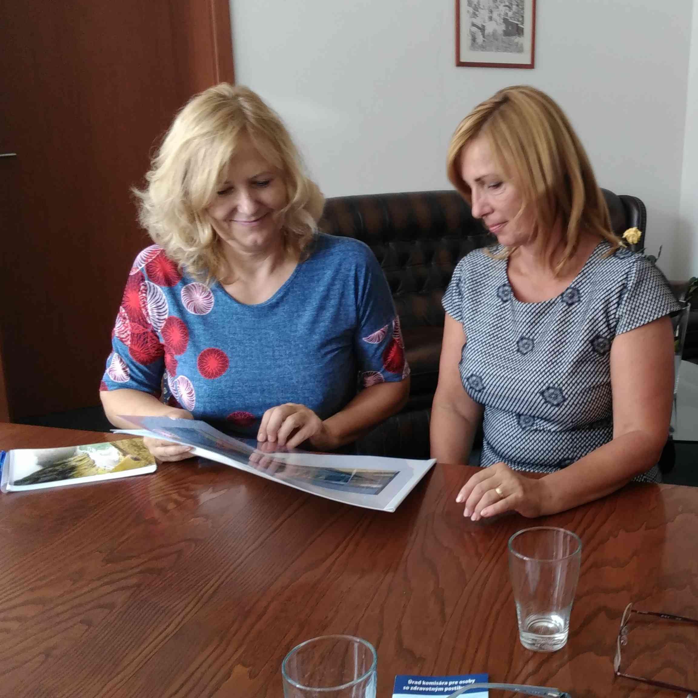 Starostka sa stretla s komisárkou pre osoby so zdravotným postihnutím
