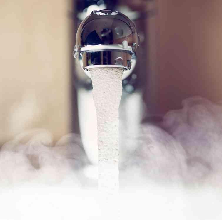 Prerušenie teplej vody v 33. týždni
