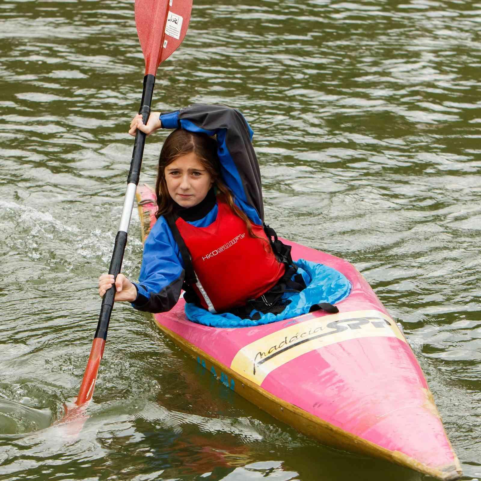 Klub vodného slalomu ponúka vodácky výcvik